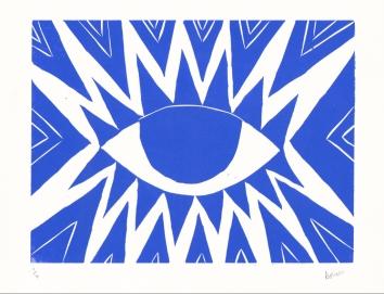 Blue Eye Triangles